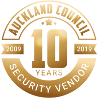 Auckland Council Vendor 10 Years Badge
